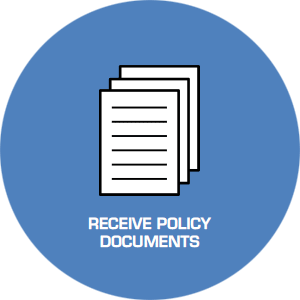 Receive policy documents